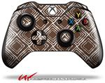 Decal Style Skin for Microsoft XBOX One Wireless Controller Wavey Chocolate Brown - (CONTROLLER NOT INCLUDED)