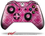 Decal Style Skin for Microsoft XBOX One Wireless Controller Wavey Fushia Hot Pink - (CONTROLLER NOT INCLUDED)