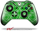 Decal Style Skin for Microsoft XBOX One Wireless Controller Wavey Green - (CONTROLLER NOT INCLUDED)