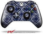 Decal Style Skin for Microsoft XBOX One Wireless Controller Wavey Navy Blue - (CONTROLLER NOT INCLUDED)