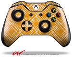 Decal Style Skin for Microsoft XBOX One Wireless Controller Wavey Orange - (CONTROLLER NOT INCLUDED)