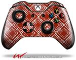 Decal Style Skin for Microsoft XBOX One Wireless Controller Wavey Red Dark - (CONTROLLER NOT INCLUDED)