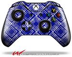 Decal Style Skin for Microsoft XBOX One Wireless Controller Wavey Royal Blue - (CONTROLLER NOT INCLUDED)