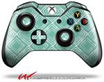 Decal Style Skin for Microsoft XBOX One Wireless Controller Wavey Seafoam Green - (CONTROLLER NOT INCLUDED)