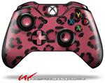 Decal Style Skin for Microsoft XBOX One Wireless Controller Leopard Skin Pink - (CONTROLLER NOT INCLUDED)