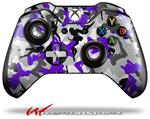 Decal Style Skin for Microsoft XBOX One Wireless Controller Sexy Girl Silhouette Camo Purple - (CONTROLLER NOT INCLUDED)