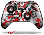 Decal Style Skin for Microsoft XBOX One Wireless Controller Sexy Girl Silhouette Camo Red - (CONTROLLER NOT INCLUDED)