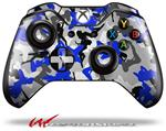 Decal Style Skin for Microsoft XBOX One Wireless Controller Sexy Girl Silhouette Camo Blue - (CONTROLLER NOT INCLUDED)