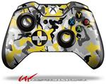 Decal Style Skin for Microsoft XBOX One Wireless Controller Sexy Girl Silhouette Camo Yellow - (CONTROLLER NOT INCLUDED)