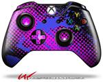 Decal Style Skin for Microsoft XBOX One Wireless Controller Halftone Splatter Blue Hot Pink - (CONTROLLER NOT INCLUDED)