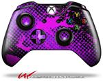 Decal Style Skin for Microsoft XBOX One Wireless Controller Halftone Splatter Hot Pink Purple - (CONTROLLER NOT INCLUDED)