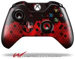 Decal Style Skin for Microsoft XBOX One Wireless Controller HEX Red - (CONTROLLER NOT INCLUDED)