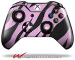 Decal Style Skin for Microsoft XBOX One Wireless Controller Zebra Skin Pink - (CONTROLLER NOT INCLUDED)
