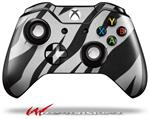 Decal Style Skin for Microsoft XBOX One Wireless Controller Zebra Skin - (CONTROLLER NOT INCLUDED)