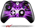 Decal Style Skin for Microsoft XBOX One Wireless Controller Lightning Purple - (CONTROLLER NOT INCLUDED)