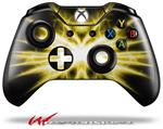 Decal Style Skin for Microsoft XBOX One Wireless Controller Lightning Yellow - (CONTROLLER NOT INCLUDED)