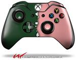 Decal Style Skin for Microsoft XBOX One Wireless Controller Ripped Colors Green Pink - (CONTROLLER NOT INCLUDED)