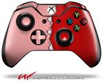 Decal Style Skin for Microsoft XBOX One Wireless Controller Ripped Colors Pink Red - (CONTROLLER NOT INCLUDED)