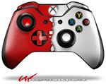 Decal Style Skin for Microsoft XBOX One Wireless Controller Ripped Colors Red White - (CONTROLLER NOT INCLUDED)