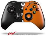 Decal Style Skin for Microsoft XBOX One Wireless Controller Ripped Colors Black Orange - (CONTROLLER NOT INCLUDED)