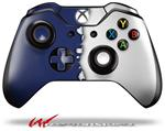 Decal Style Skin for Microsoft XBOX One Wireless Controller Ripped Colors Blue White - (CONTROLLER NOT INCLUDED)