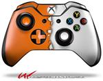 Decal Style Skin for Microsoft XBOX One Wireless Controller Ripped Colors Orange White - (CONTROLLER NOT INCLUDED)