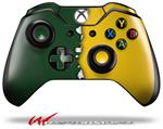 Decal Style Skin for Microsoft XBOX One Wireless Controller Ripped Colors Green Yellow - (CONTROLLER NOT INCLUDED)