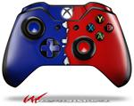 Decal Style Skin for Microsoft XBOX One Wireless Controller Ripped Colors Blue Red - (CONTROLLER NOT INCLUDED)