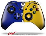 Decal Style Skin for Microsoft XBOX One Wireless Controller Ripped Colors Blue Yellow - (CONTROLLER NOT INCLUDED)