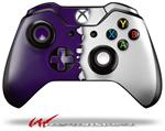Decal Style Skin for Microsoft XBOX One Wireless Controller Ripped Colors Purple White - (CONTROLLER NOT INCLUDED)