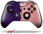 Decal Style Skin for Microsoft XBOX One Wireless Controller Ripped Colors Purple Pink - (CONTROLLER NOT INCLUDED)