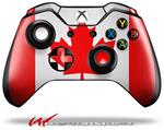 Decal Style Skin for Microsoft XBOX One Wireless Controller Canadian Canada Flag - (CONTROLLER NOT INCLUDED)