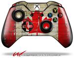 Decal Style Skin for Microsoft XBOX One Wireless Controller Painted Faded and Cracked Canadian Canada Flag - (CONTROLLER NOT INCLUDED)