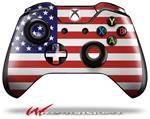 Decal Style Skin for Microsoft XBOX One Wireless Controller USA American Flag 01 - (CONTROLLER NOT INCLUDED)