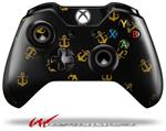 Decal Style Skin for Microsoft XBOX One Wireless Controller Anchors Away Black - (CONTROLLER NOT INCLUDED)