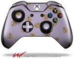 Decal Style Skin for Microsoft XBOX One Wireless Controller Anchors Away Lavender - (CONTROLLER NOT INCLUDED)
