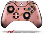 Decal Style Skin for Microsoft XBOX One Wireless Controller Anchors Away Pink - (CONTROLLER NOT INCLUDED)