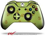 Decal Style Skin for Microsoft XBOX One Wireless Controller Anchors Away Sage Green - (CONTROLLER NOT INCLUDED)