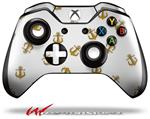 Decal Style Skin for Microsoft XBOX One Wireless Controller Anchors Away White - (CONTROLLER NOT INCLUDED)