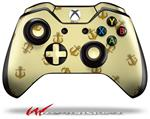 Decal Style Skin for Microsoft XBOX One Wireless Controller Anchors Away Yellow Sunshine - (CONTROLLER NOT INCLUDED)