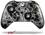 Decal Style Skin for Microsoft XBOX One Wireless Controller Scattered Skulls Black - (CONTROLLER NOT INCLUDED)