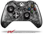 Decal Style Skin for Microsoft XBOX One Wireless Controller Scattered Skulls Gray - (CONTROLLER NOT INCLUDED)