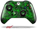 Decal Style Skin for Microsoft XBOX One Wireless Controller Scattered Skulls Green - (CONTROLLER NOT INCLUDED)