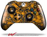 Decal Style Skin for Microsoft XBOX One Wireless Controller Scattered Skulls Orange - (CONTROLLER NOT INCLUDED)