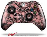 Decal Style Skin for Microsoft XBOX One Wireless Controller Scattered Skulls Pink - (CONTROLLER NOT INCLUDED)