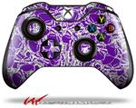 Decal Style Skin for Microsoft XBOX One Wireless Controller Scattered Skulls Purple - (CONTROLLER NOT INCLUDED)