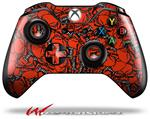 Decal Style Skin for Microsoft XBOX One Wireless Controller Scattered Skulls Red - (CONTROLLER NOT INCLUDED)