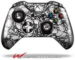 Decal Style Skin for Microsoft XBOX One Wireless Controller Scattered Skulls White - (CONTROLLER NOT INCLUDED)