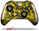 Decal Style Skin for Microsoft XBOX One Wireless Controller Scattered Skulls Yellow - (CONTROLLER NOT INCLUDED)