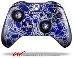 Decal Style Skin for Microsoft XBOX One Wireless Controller Scattered Skulls Royal Blue - (CONTROLLER NOT INCLUDED)